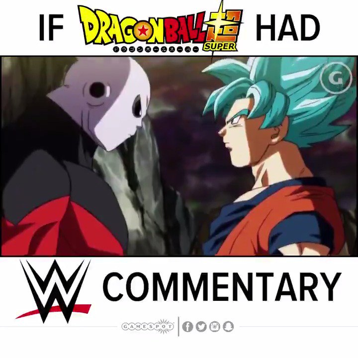RT @gamespot: Dragon Ball Super with WWE commentary is 👌 (Turn on 🔊) https://t.co/y4IloMfKcL