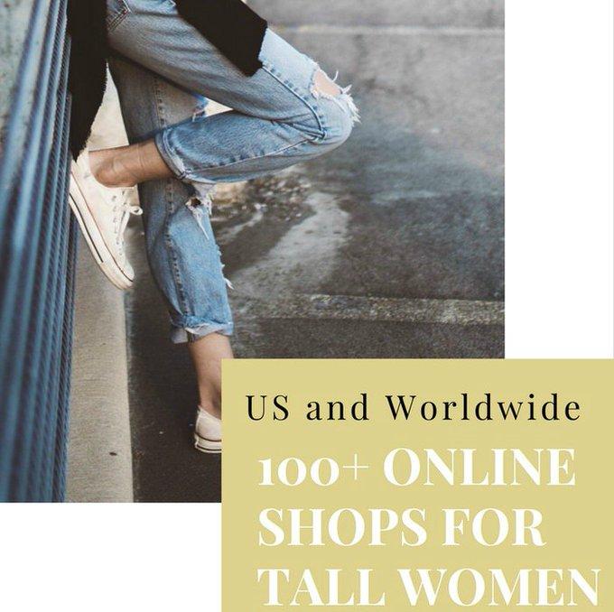 Worldwide Tall Womens Online Shopping Guide
