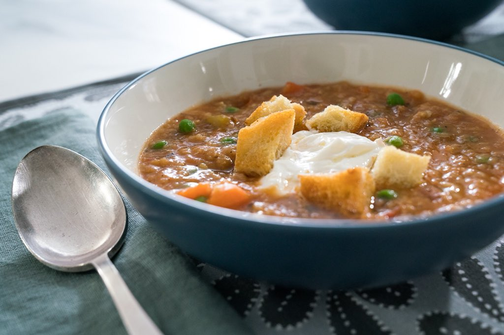 Soup on a cold day! YES!  Hit RT if you agree �� �� xoxo #TrishasKitchen https://t.co/OocgxyyOTJ