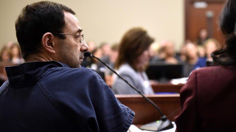 One after another, victims speak up in Larry Nassar's sentencing, despite his complaints https://t.co/ZxHlleedZL https://t.co/zTirMZU4t2
