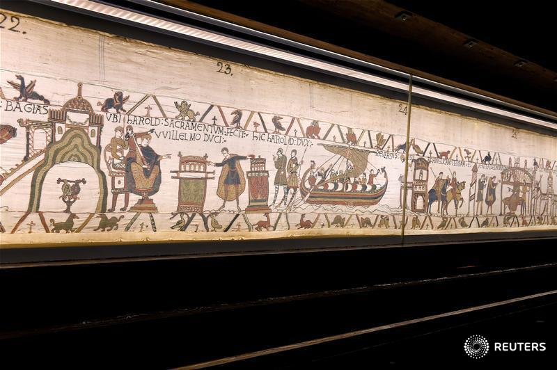 After 950 years, France to lend Bayeux Tapestry to Britain https://t.co/y86dGRSlZv https://t.co/CcAyi8erco