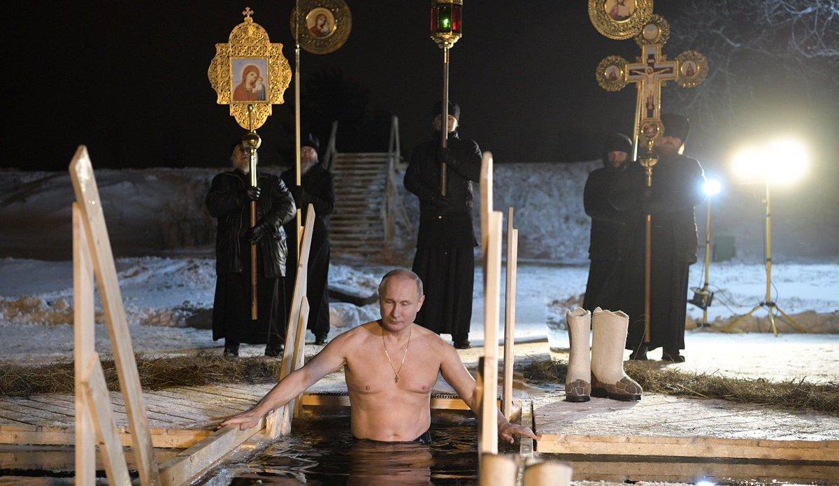 test Twitter Media - Στους -5 βαθμούς βούτηξε για τα θεοφάνεια ο Β. Πούτιν https://t.co/3L351Yoc1Q https://t.co/esoqWygEGo
