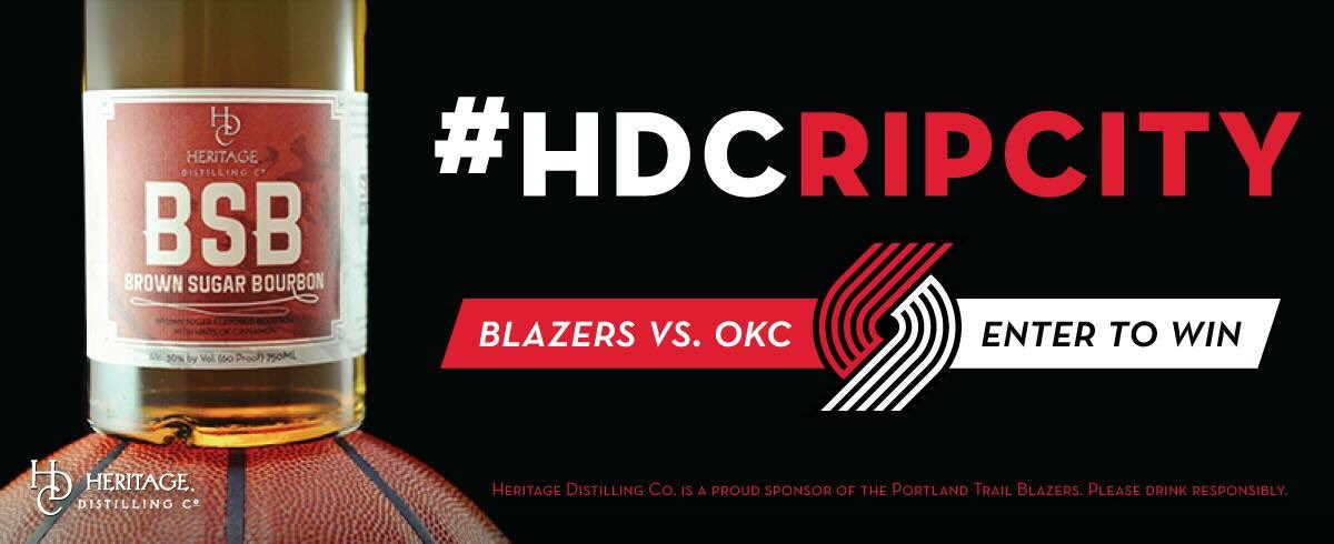 test Twitter Media - It's contest time! We've partnered with the @trailblazers to bring you the chance to win one of two ultimate giveaways. You can't spell basketball without BSB and you can't win if you don't enter! #HDCRipCity #HeritageDistilling #RipCity https://t.co/VGpOjnrzav https://t.co/LotXkJyJVZ