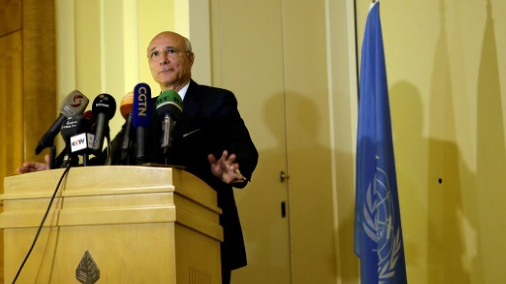 UN envoy links Russia- and UN-led peace talks on Syria