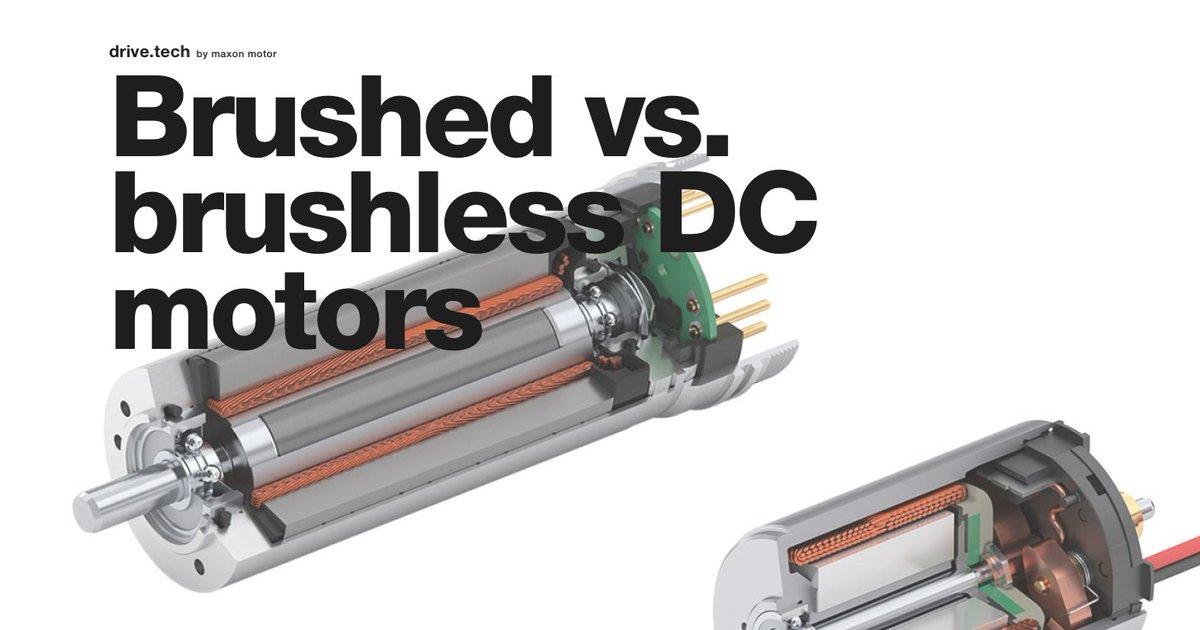 Brushed vs brushless