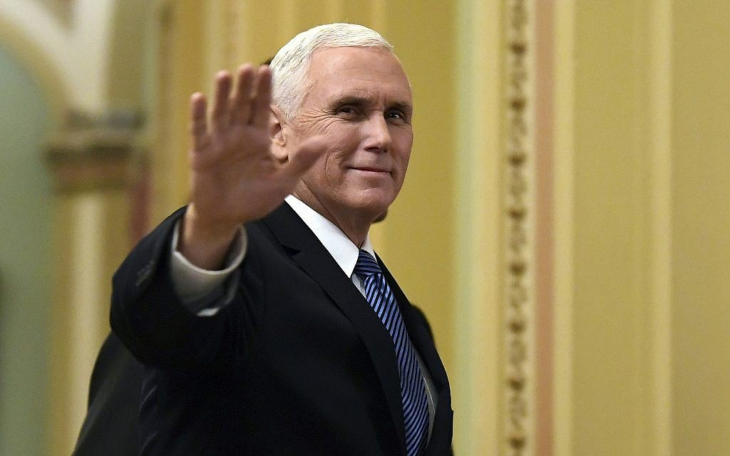 Pence heads to Jerusalem, epicenter of rift with the Palestinians