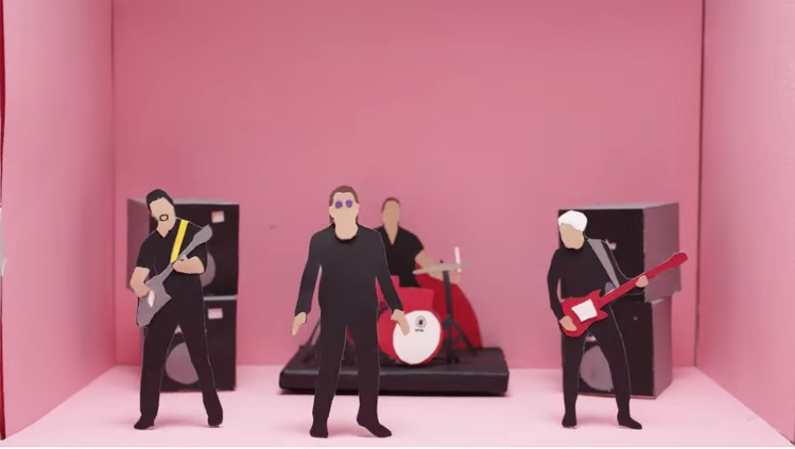 Watch U2's politically charged video for 'Get Out of Your Own Way' https://t.co/cWLgBXvBOB https://t.co/ENWgcamoPb