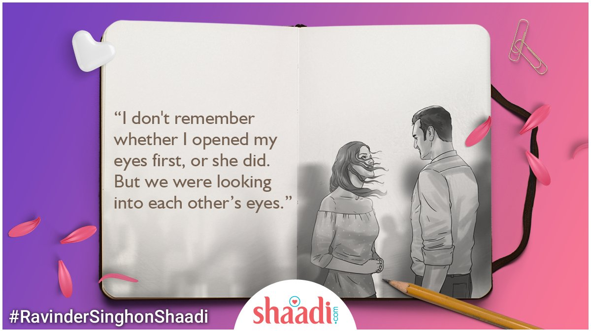 test Twitter Media - When you look into someone's eyes and see everything you need, that's love! <3  #RavinderSinghonShaadi #quotes https://t.co/78QHmXVRZF