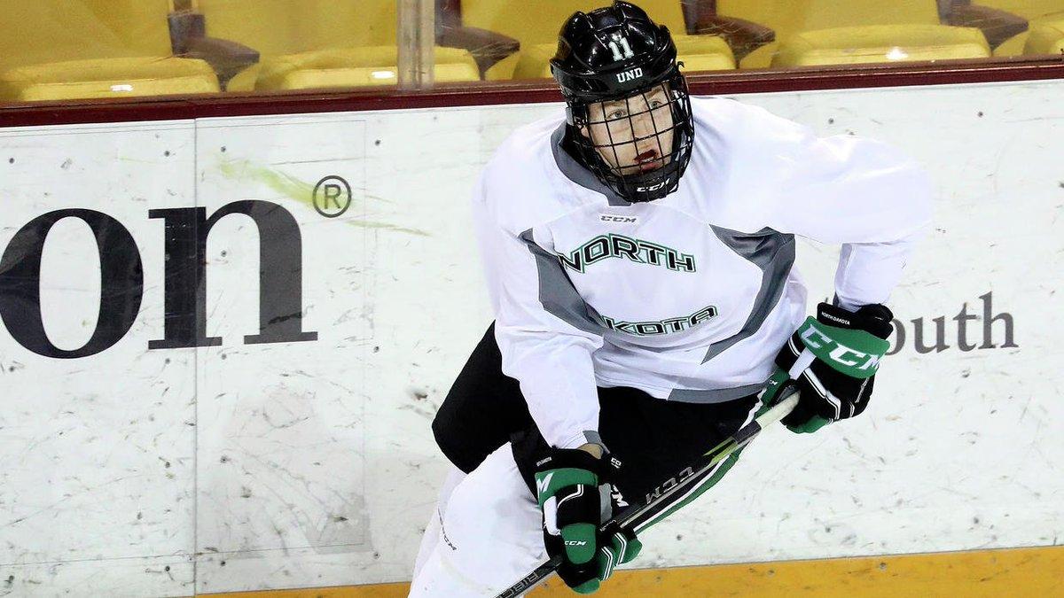 College men's hockey: Hawks' Olson set for hometown finale