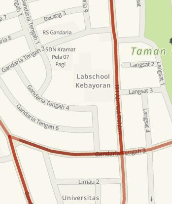 14.01: Arus lalu lintas di Jl. KH. Ahmad Dahlan arah ke perempatan Gandaria Tengah 3 padat. #ElshintaIsMe https://t.co/dXmKzK5x0Z