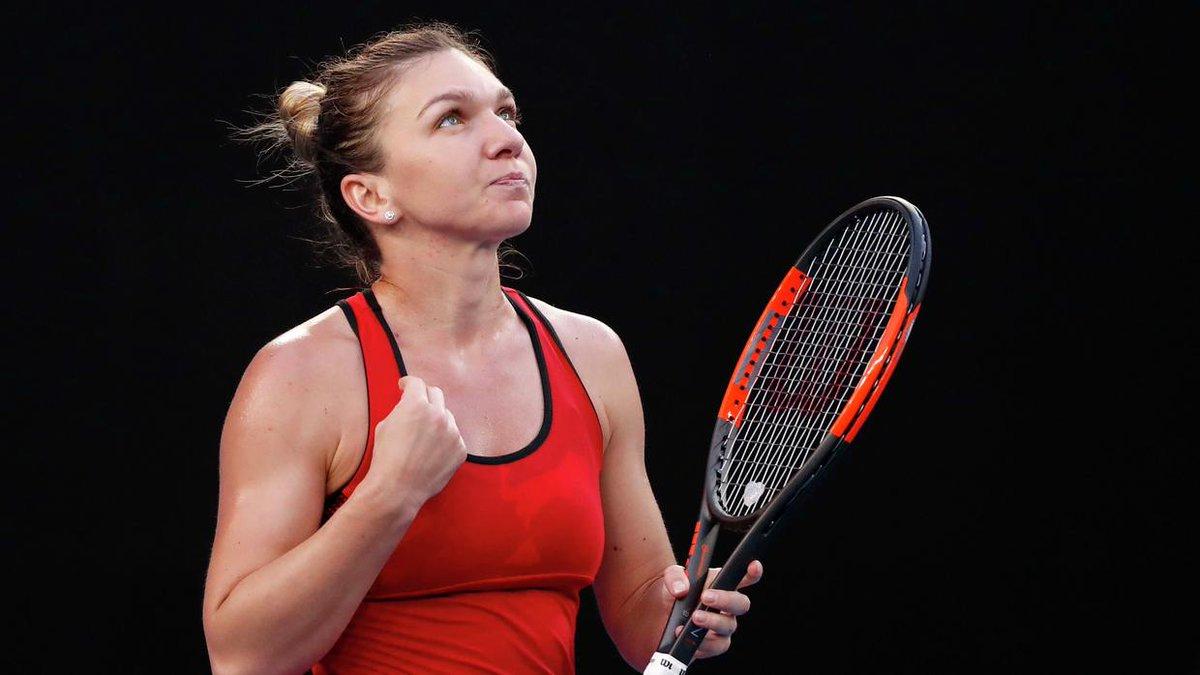 No. 1 Simona Halep ignores injury, beats Eugenie Bouchard in