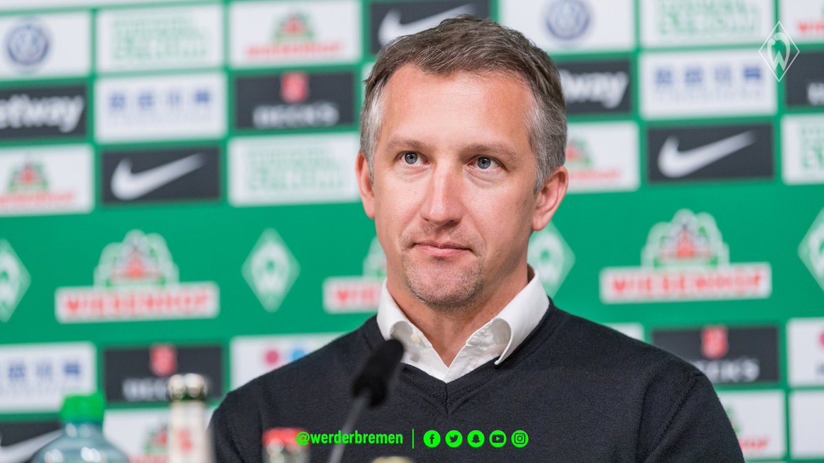 "💬 Baumann about potential new signings: ""After Fin #Bartels' injury, we said that we would think about it. I am optimistic that we will be able to sign a player before the end of the window."" #werder #fcbsvw https://t.co/buqRwogsgK"