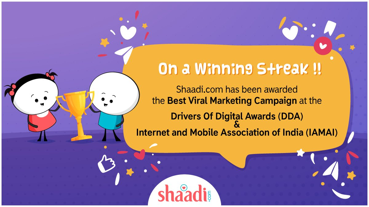 test Twitter Media - Two awards in a row !! :D   Thank you, Drivers Of Digital Awards (DOD) & Internet and Mobile Association of India (IAMAI) for recognizing our campaign as the best in the pack!  #Winners #IAMAI #DOD @IAMAIForum @InkspellSols https://t.co/1rFABksVxr