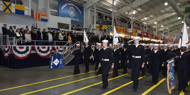 LIVE 9:45AM ET: Watch #USNavy's newest Sailors graduate boot camp - https://t.co/d6QYaEXCCz https://t.co/p0N9lQX3nZ