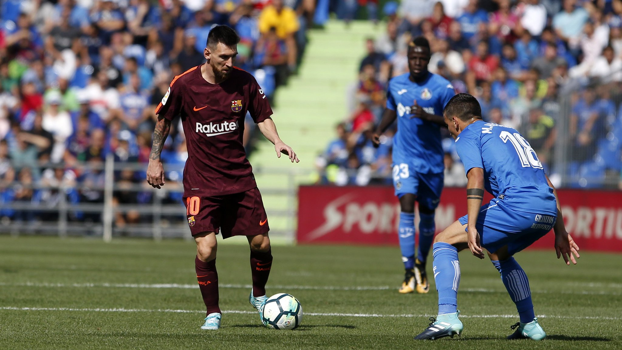 ゚モニ [KICK OFF TIME CONFIRMED] ゚モヘ Week 23 ¬レᄑᄌマ #BarᅢᄃaGetafe  ゚マᅠ Camp Nou ¬フレᄌマ Sunday 11/02 - 4.15pm CET ゚ヤᄉ゚ヤᄡ #ForᅢᄃaBarᅢᄃa https://t.co/yNGNgHAlYz