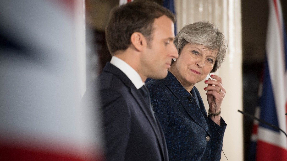 WATCH: UK gift Macron $62 million, but it doesn't buy #Brexit love https://t.co/T3s2LrnMdL via @ReutersTV https://t.co/MtKT1oMteU