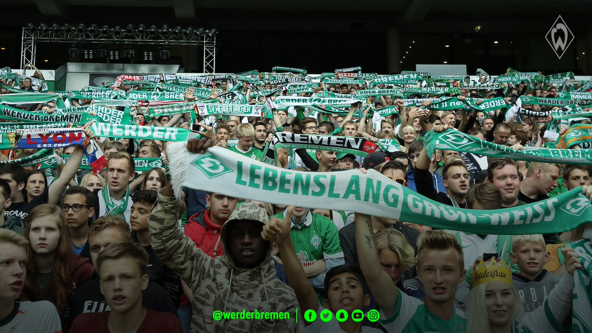 Fan news: 4,000 Green-White fans are expected to make the trip to #fcbsvw 💚 #werder https://t.co/wuVh2A4FPc