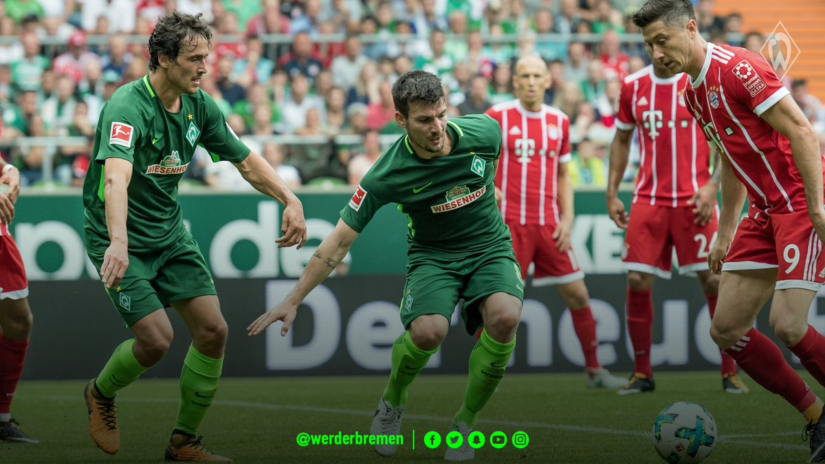 "💬 #Kohfeldt: ""There are two ways to play against @FCBayernEN: strong counter-attacking football, or trying to keep the ball."" #werder #fcbsvw https://t.co/amg2BUvOTg"