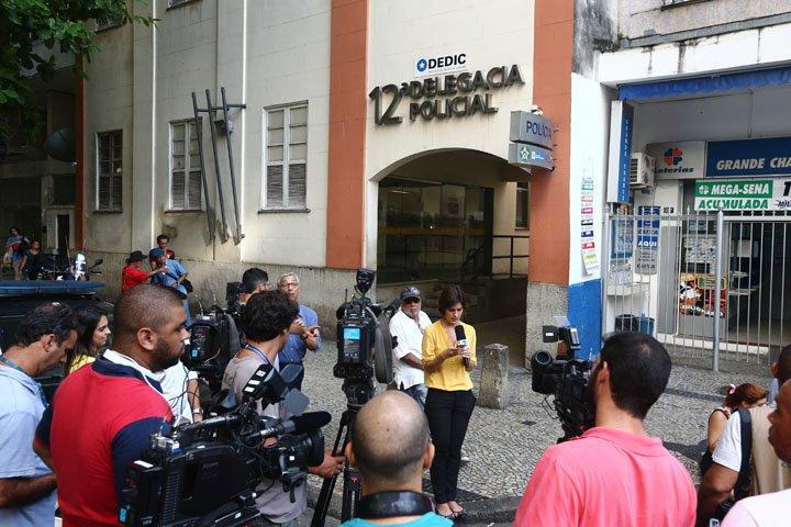 @BroadcastImagem: Motorista que causou acidente em Copacabana presta depoimento na 12ª DP esta manhã. Fábio Motta/Estadão