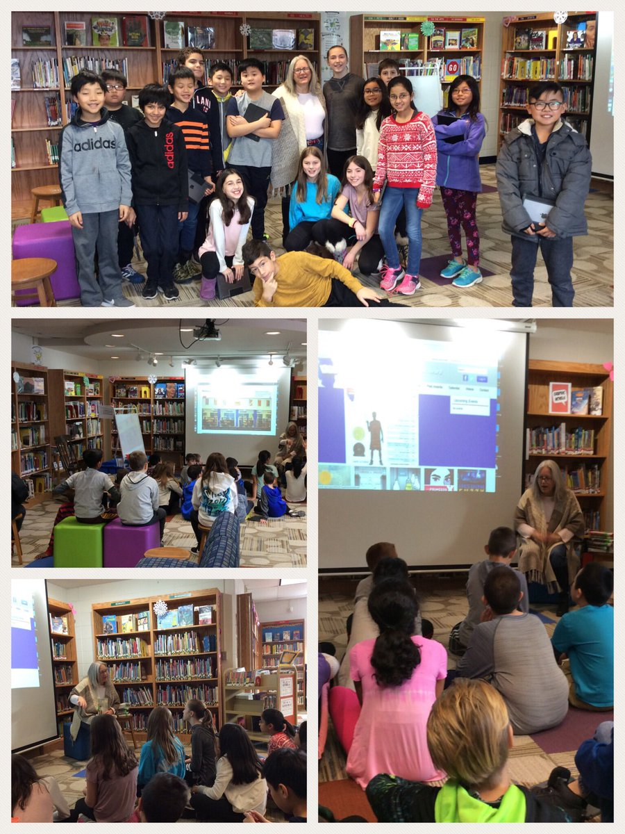 test Twitter Media - We had so much fun today visiting with @Mediapprentice to get excited about the Maple library! @Wescott5L @wescott5M @dkarnoscak #d30learns https://t.co/jKi0uJnqkR