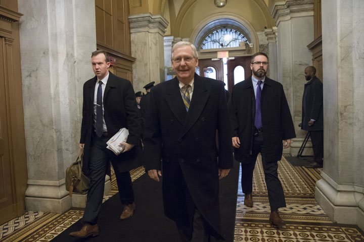 @BroadcastImagem: Líder republicano no Senado diz que democratas precisam voltar à realidade. J. Scott Applewhite/AP