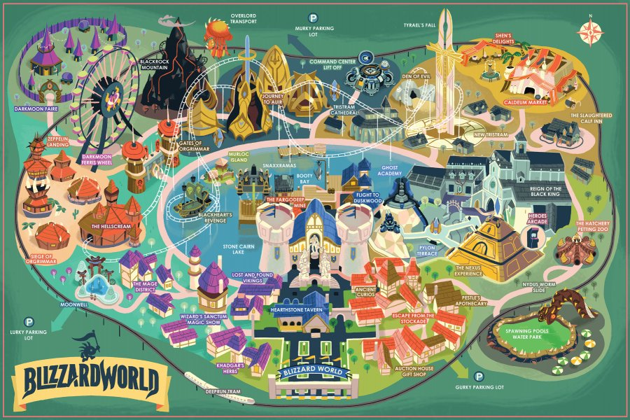 ICYMI: Want a real-life Blizzard World map? Here's where you can buy one:  https://t.co/s94ZoQIW6J https://t.co/Cq9XKw1n1Q