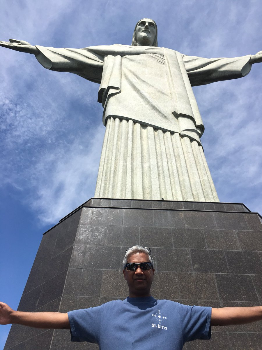 Finally made it to Rio #Brazil #ChristTheRedeemer #FAWM@Sea #MaritimeEmergencyMedicine ...
