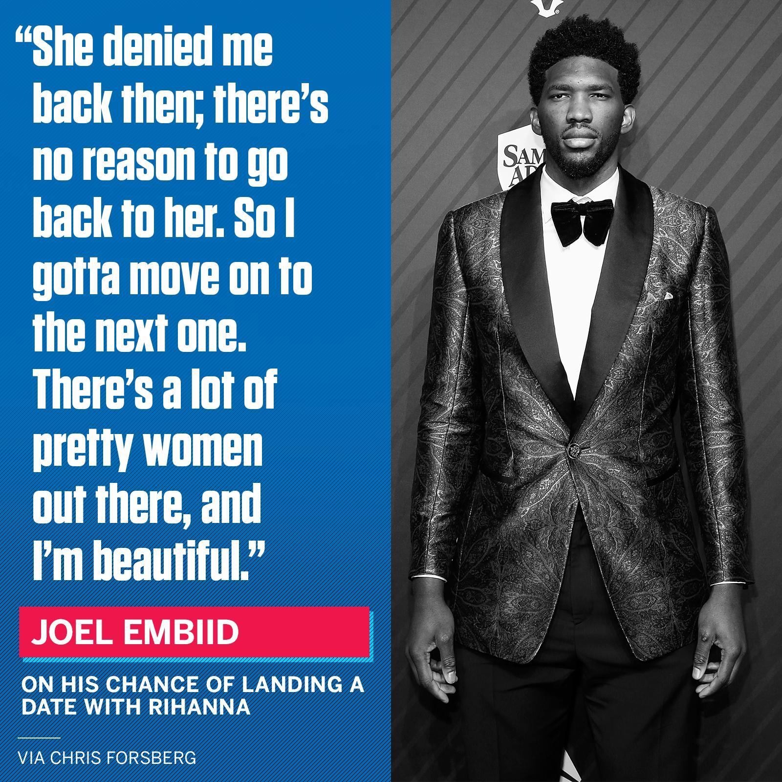 Joel Embiid is on to the next one. https://t.co/5odnokDWtC