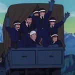 RT : 今まで一貫して無個性的に描かれていた銭形突撃隊の隊員達が、最後満面...