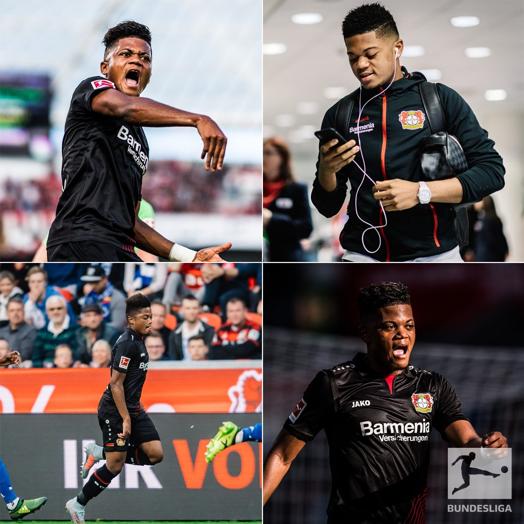 RT @Bundesliga_DE: 🎉 🎧 🏃 👊  #Bundesliga @bayer04fussball @leonbailey https://t.co/QmFiwe7H3S
