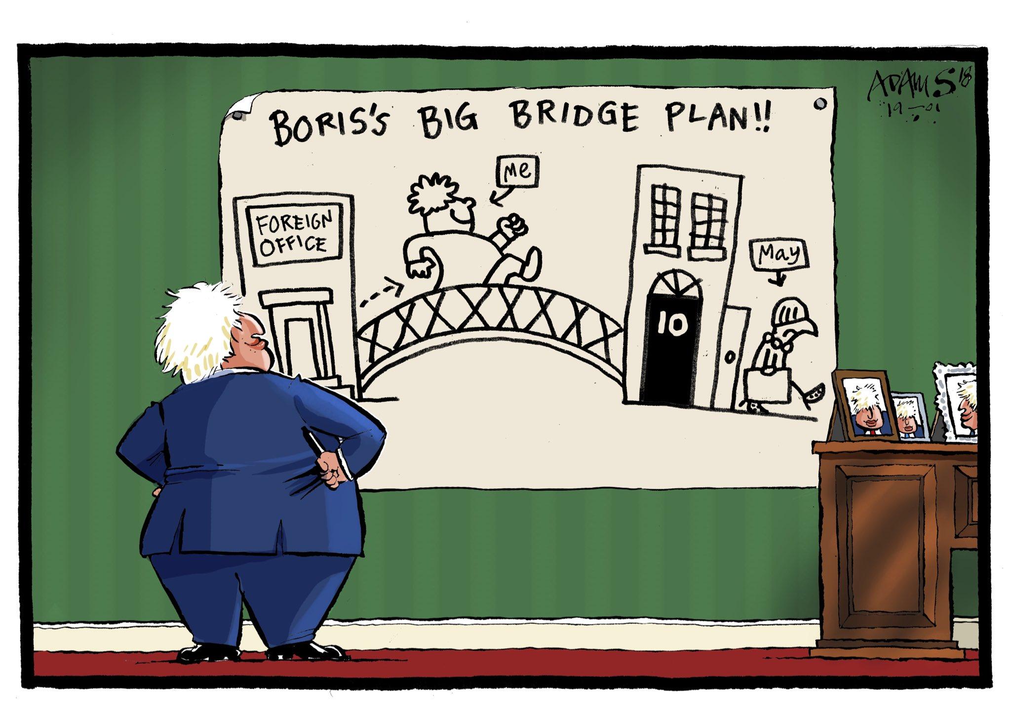Our @adamstoon1 @eveningstandard on Boris's plan for a new bridge https://t.co/R7K3GM6H7D