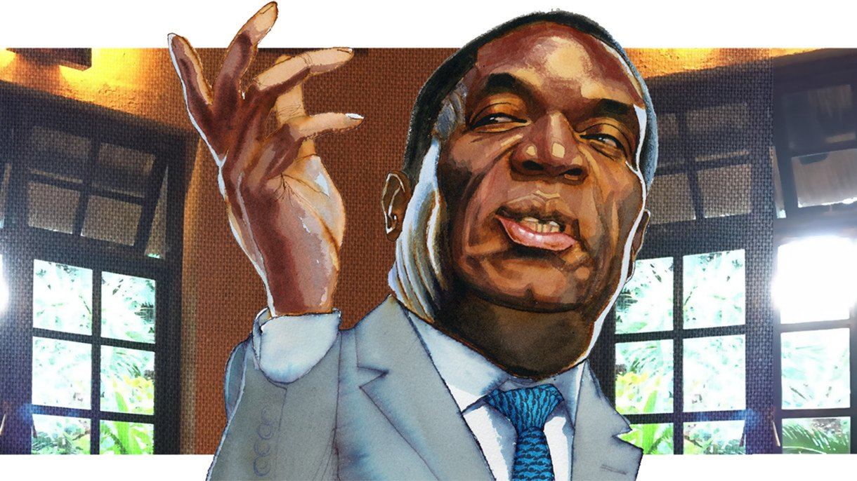 'I'm not a crocodile': Zimbabwe's president Emmerson Mnangagwa has Lunch with the FT https://t.co/p1s0g0x2ov https://t.co/ymqGO7EPyK