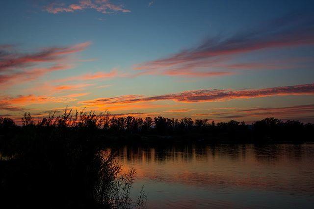 #<b>Sunset</b> #onthebank #lkbaits #carpfishing #fishing #angling #karpfenangeln #angeln #rybolov #c