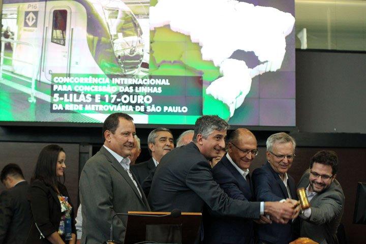 @BroadcastImagem: Consórcio da CCR vence disputa por linhas do Metrô com oferta de R$ 553,88 mi. Werther Santana/Estadão