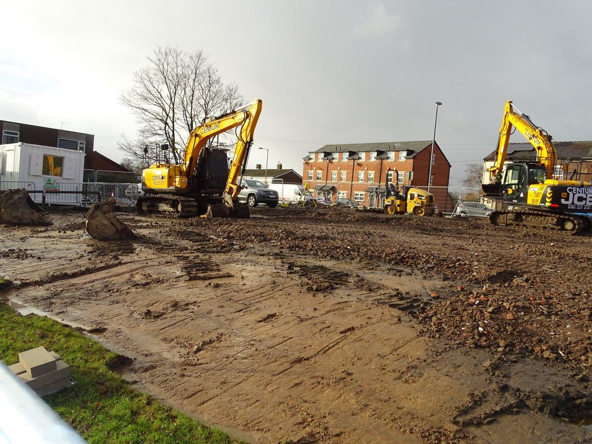 test Twitter Media - Temporary car park well under way.  Week 2 - 16.1.18 #castlebrooknewbuild https://t.co/cD9pALyijs