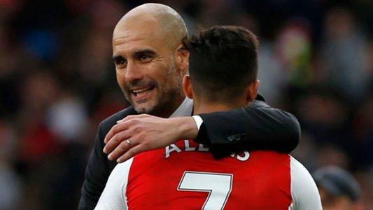 Guardiola congratulates Alexis on impending Man Utd move