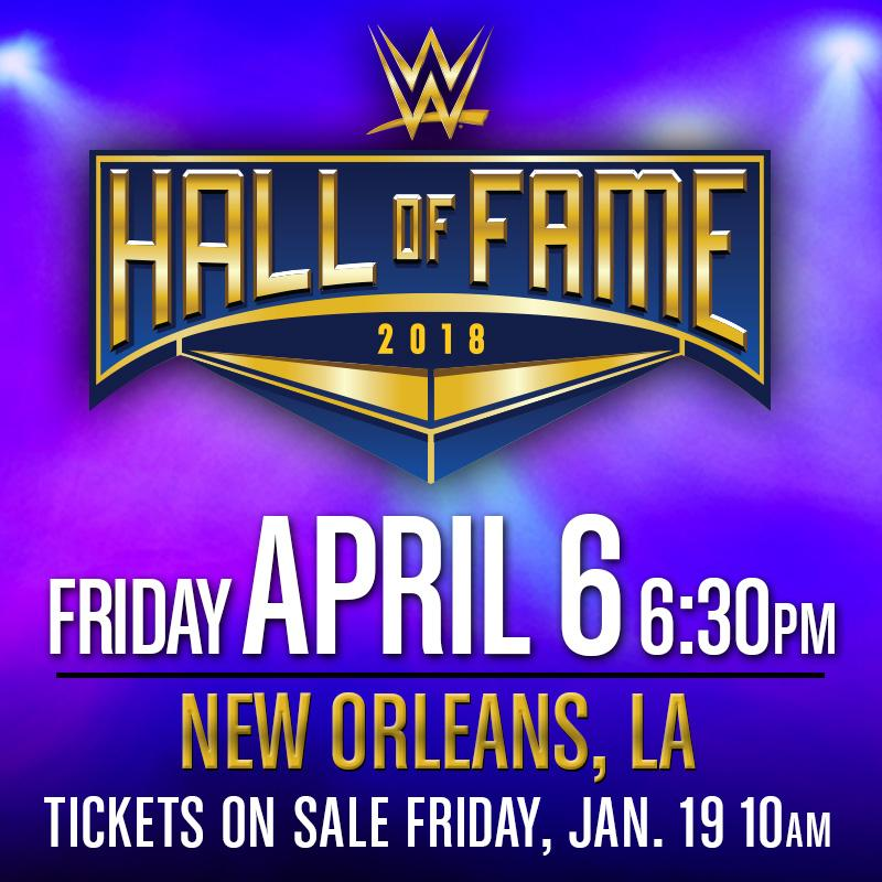 RT @WWE: Hey @WWE Universe! Hall of Fame tickets are now ON SALE! https://t.co/uTPfkKPH8h https://t.co/p1me8CGQL1