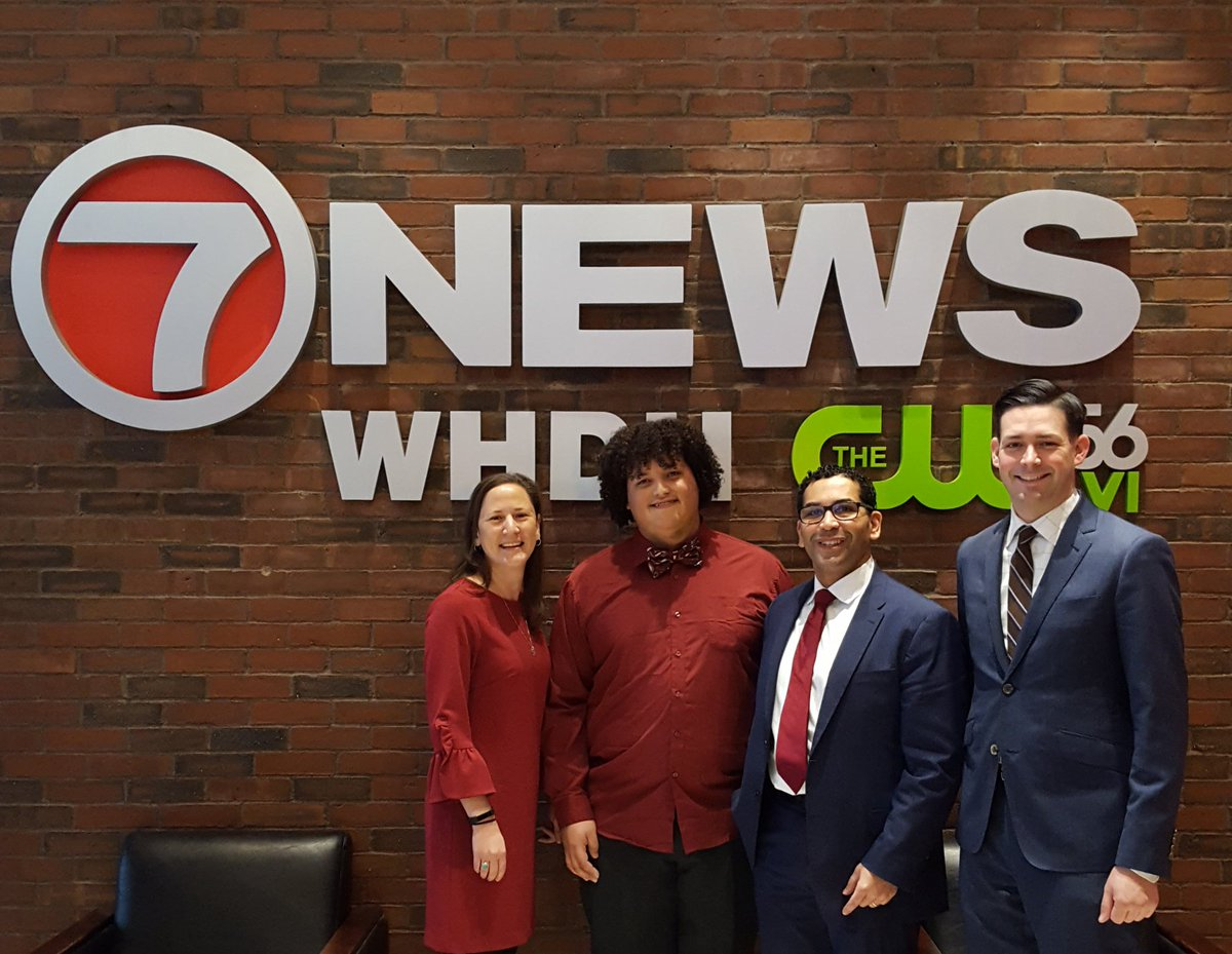 test Twitter Media - Ran into some friends from @CHSBoston taping @7News Urban Update!  Check out both More Than Words and Cathedral High School on the show this Sunday at 11 a.m.! https://t.co/XHYR8tiL50