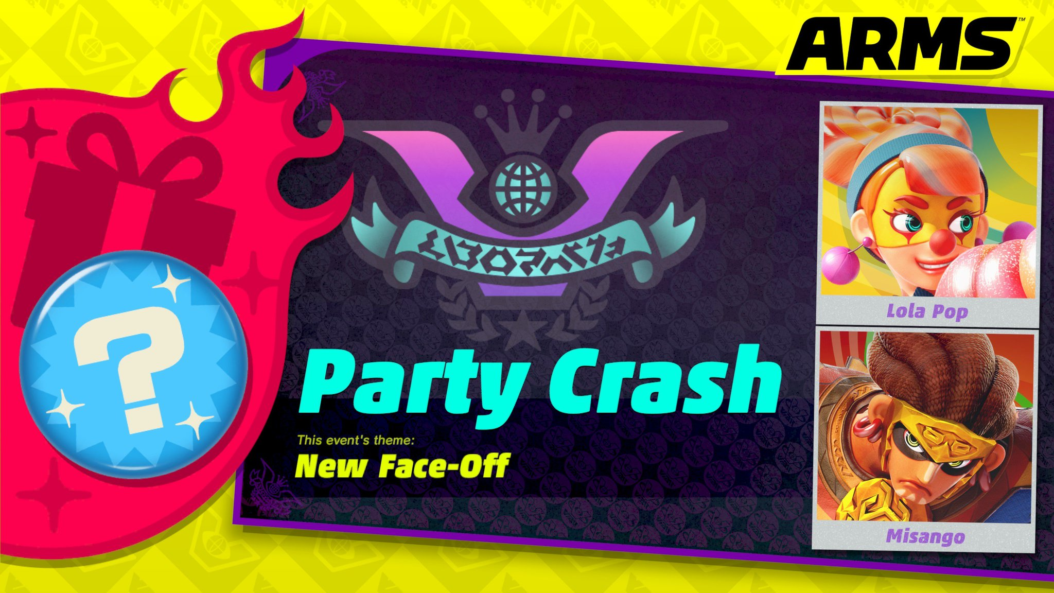 The #ARMS Party Crash between Lola Pop and Misango is going on now! Which fighter will you choose? https://t.co/nHORpf2PlS