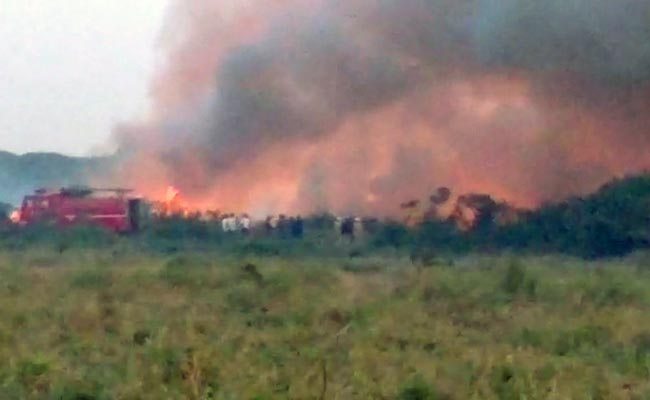 At Bengaluru's Bellandur Lake, Massive Fire Rages For 7 Hours