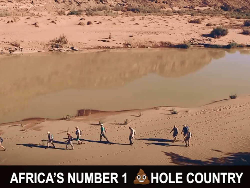 Namibia tourism operator boast 'Africa's No. 1 s—hole country' in cheeky video