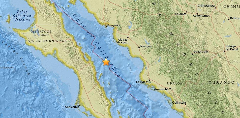 Sismo en México fue a unos 69 kilómetros al noroeste de Loreto, dice USGS  https://t.co/XnwMNvMR17 https://t.co/tuDqozNsLj