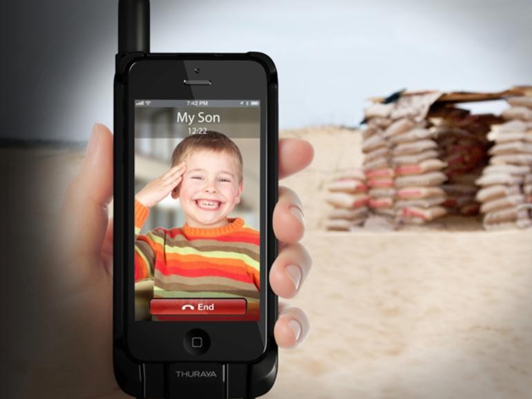 RT @ZDNet: Turn your iPhone/Android into a satellite phone...