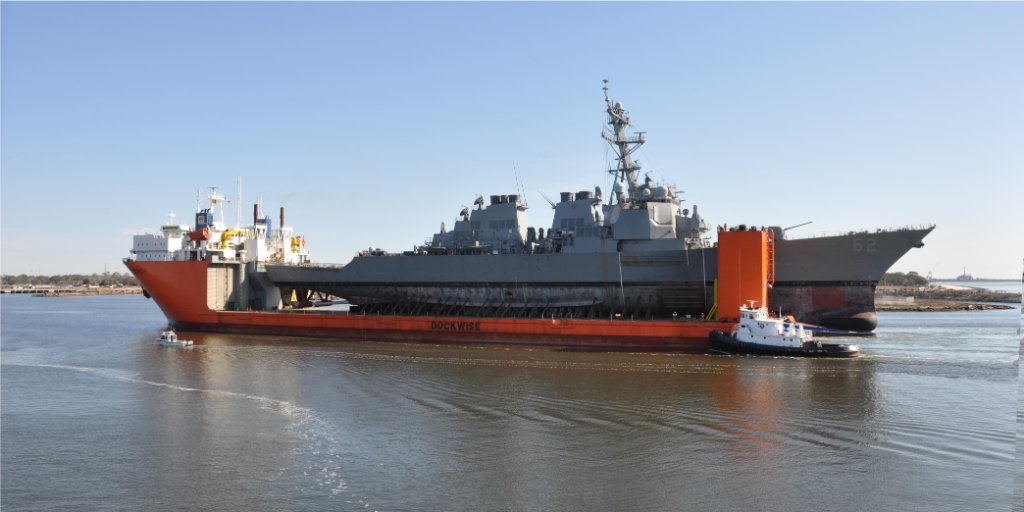 #USSFitzgerald arrives in #Pascagoula for restoration - https://t.co/OQWjg4yQYz via @NAVSEA https://t.co/lOytMsmu8Z
