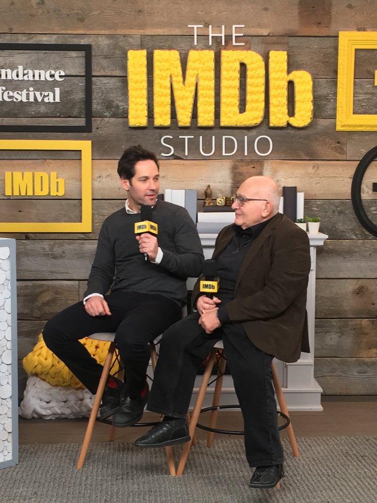 Director Ben Lewin + Paul Rudd talk their #Sundance film #TheCatcherWasASpy ����️♂️ https://t.co/Yifor4B0fL
