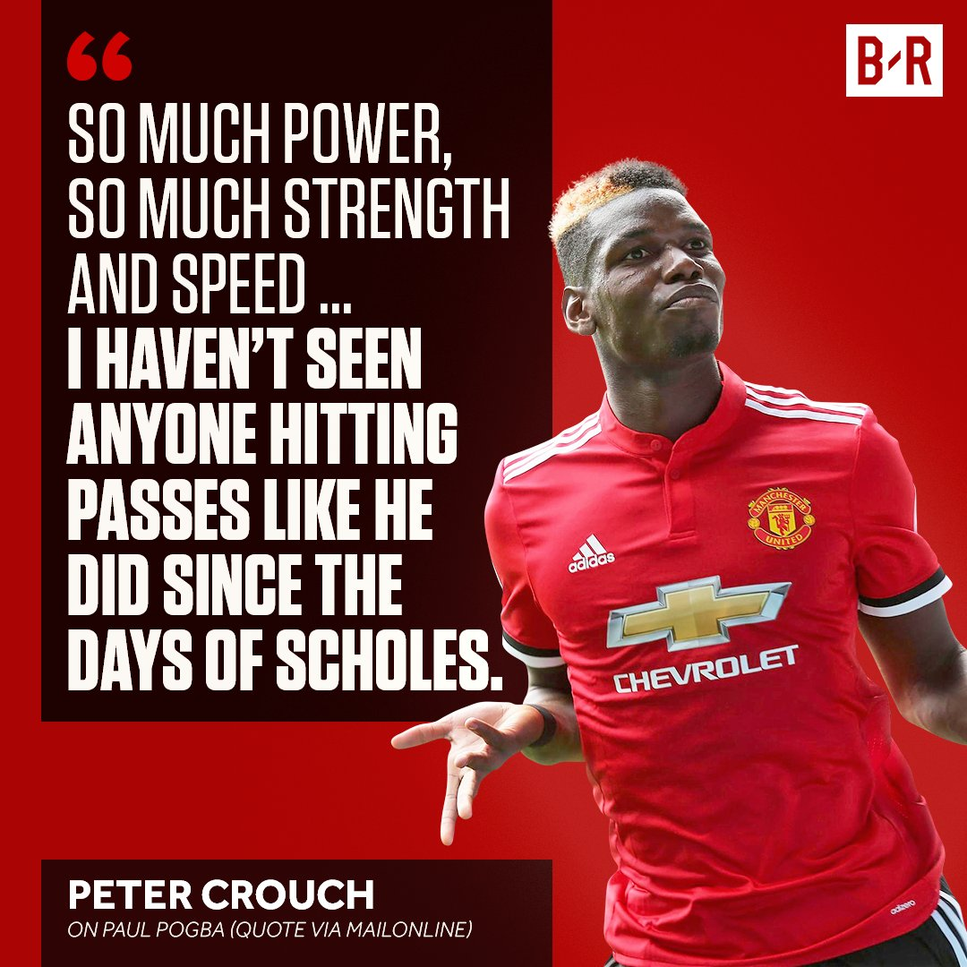 RT @brfootball: Paul Pogba is walking in the footsteps of Manchester United legends 👀 https://t.co/WQl5jgPpPi