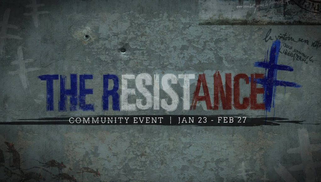 The Resistance Event for #CODWWII -- Jan 23 - Feb 27:   • Demolition + Prop Hunt  • Captain Butcher returns w/ new weapons & Resistance Gear • New 'Resistance' Division   Info/trailer: https://t.co/sxZJvXrL24 https://t.co/eoKIJKmJjS