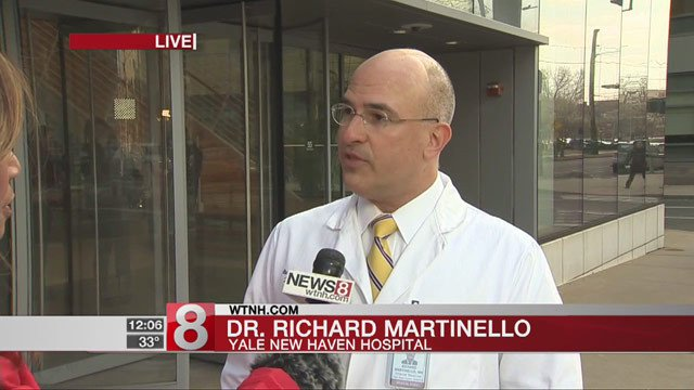 Yale-New Haven Hosptial provides update on flu outbreak
