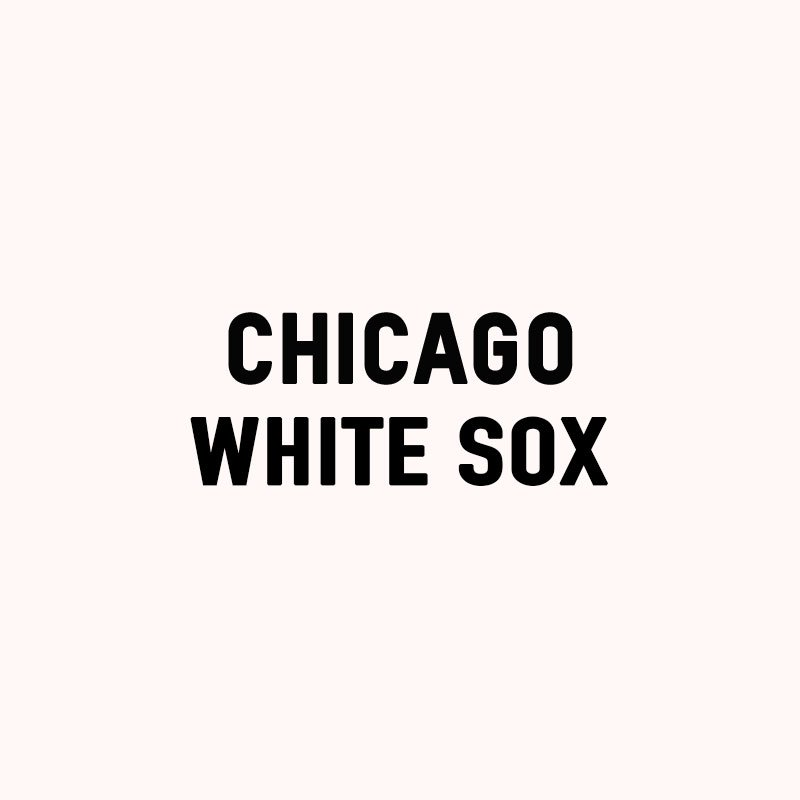 Chicago White Sox. https://t.co/BjeSoYAqe4
