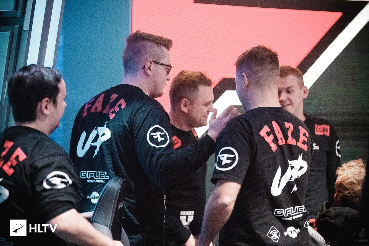 Group Play started off right with a W at @ELEAGUETV!  FaZe Clan 16, Fnatic 8. #FaZeUp https://t.co/qXxuFPZk4W
